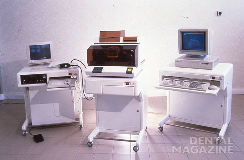 photo 1.first CADCAM system in the world 1987