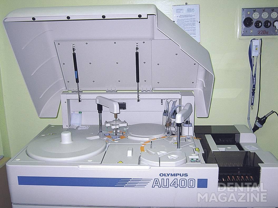 Рис. 2. Автоматический анализатор.